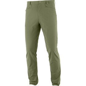 Salomon Wayfarer Tapered Pants Men, olive night
